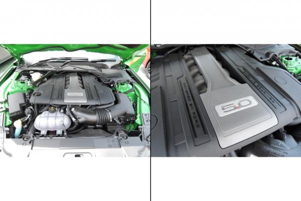 V8 5リッターエンジン